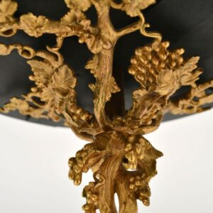 Antique Specimen Marble Top Gilt Bronze Table - Elkington & Co