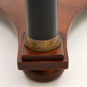 Pair of Antique Biedermeier Style Marble Top Side Tables