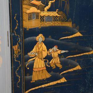 antique chinoiserie wardrobe hille