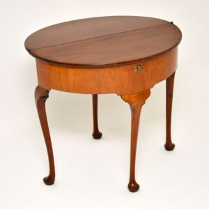 antique georgian george III tea table console table
