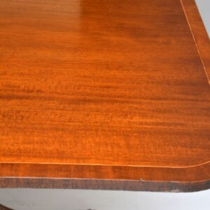 Antique Mahogany Regency Style Extending Dining Table