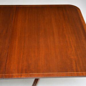 antique regency mahogany dining table