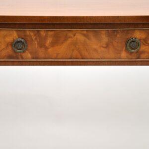 antique mahogany sheraton console side table