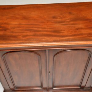 Antique Victorian Mahogany Cabinet Sideboard