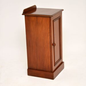antique victorian mahogany bedside cabinet pot cupboard