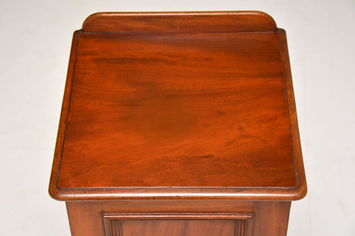 Antique Victorian Mahogany Bedside Cabinet Marylebone Antiques
