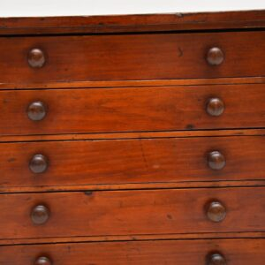 antique victorian miniature jewellery chest