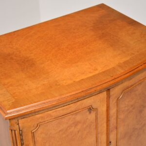 Antique Burr Walnut Drinks Cabinet