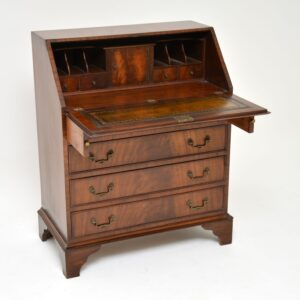 antique mahogany writing bureau desk