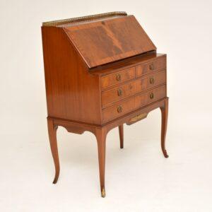 antique french mahogany bureau