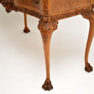 Antique Burr Walnut Server / Console Table