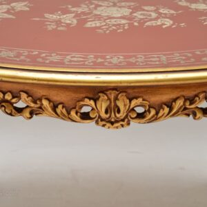 Antique French Style Gilt Wood Coffee Table