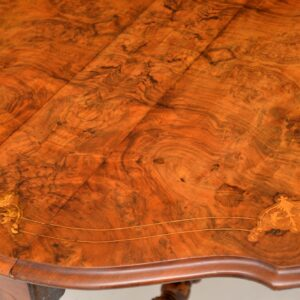 antique burr walnut victorian sutherland table