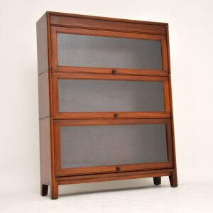antique mahogany stacking bookcase