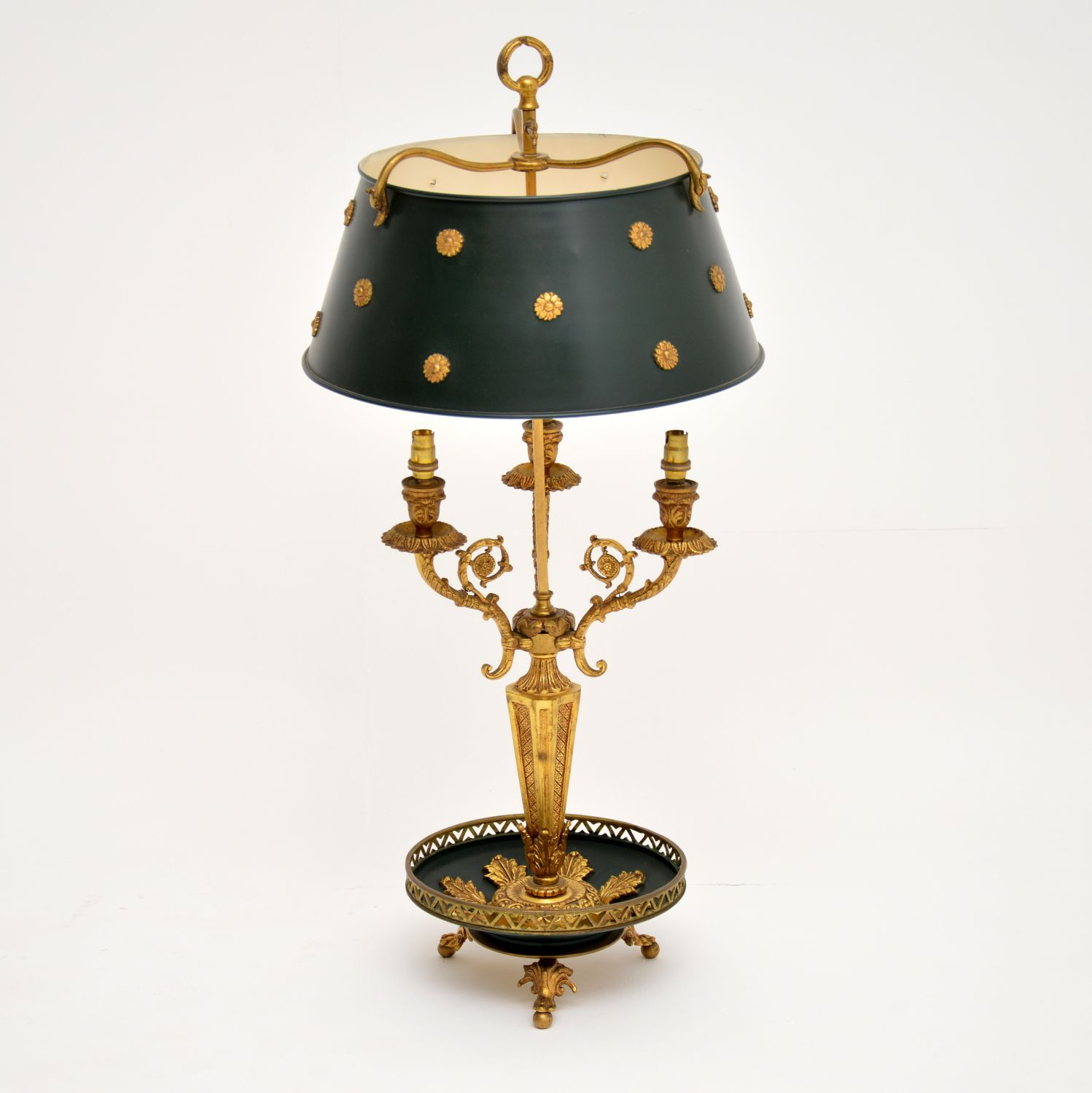 antique french neo classical table lamp