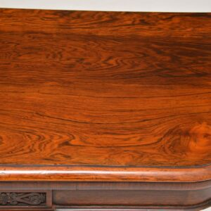 Antique William IV Rosewood Card Table