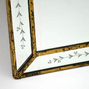 antique italian venetian mirror