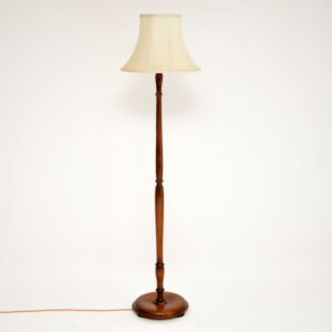 Antique Walnut Lamp Stand
