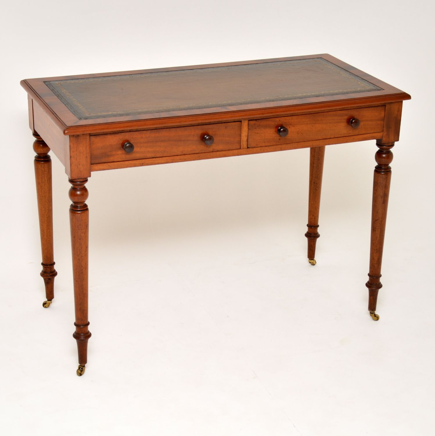 antique victorian mahogany writing table desk