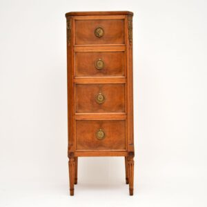 antique french walnut chest of drawers