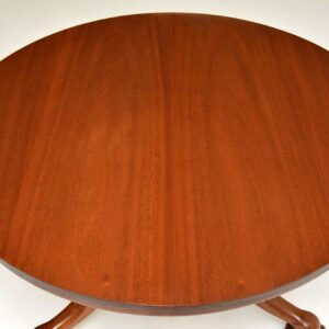 antique william IV victorian mahogany breakfast dining centre table