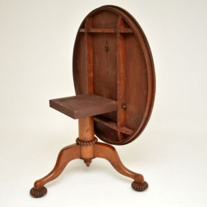 antique william IV victorian mahogany breakfast dining centre table