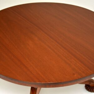 Antique William IV Mahogany Tilt Top Dining Table