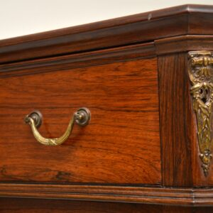 antique french swedish rosewood chest of drawers secretaire
