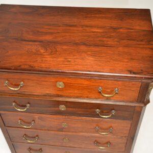 Antique Biedermeier Secretaire Chest of Drawers