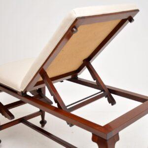 Antique Victorian Doctors Bed / Chaise Longue