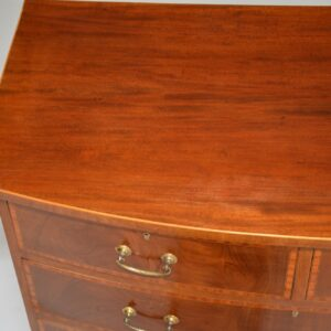 antique georgian mahogany chest of drawers