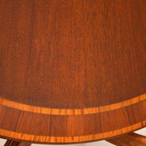 antique georgian regency inlaid mahogany tillman dining table