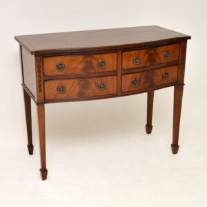antique mahogany sideboard server table