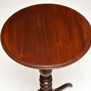 antique mahogany victorian side occasional wine table