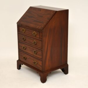 antique georgian mahogany bureau