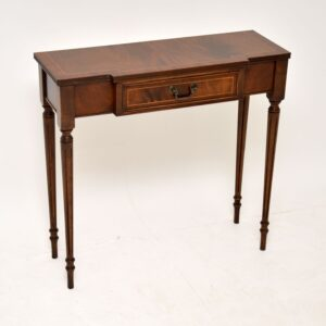 antique georgian style mahogany console side table