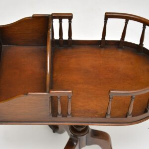 antique mahogany side wine telephone table
