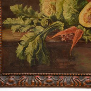 antique still life oil painting