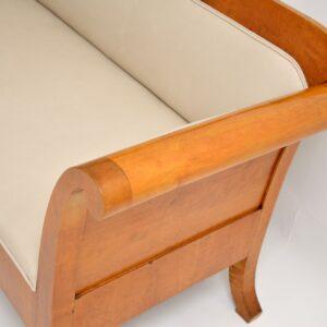 antique swedish satin birch biedermeier_sofa_1