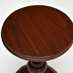 antique victorian mahogany wine table