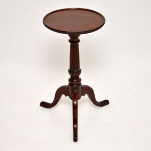antique victorian mahogany wine table