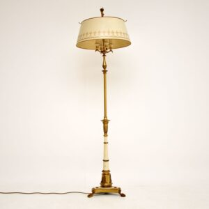 antique vintage tole floor lamp