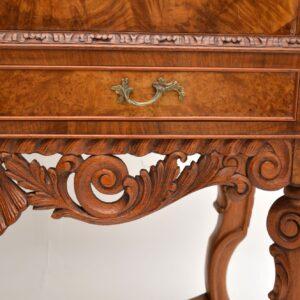 antique walnut queen anne cocktail cabinet