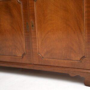 antique mahogany georgian bookcase