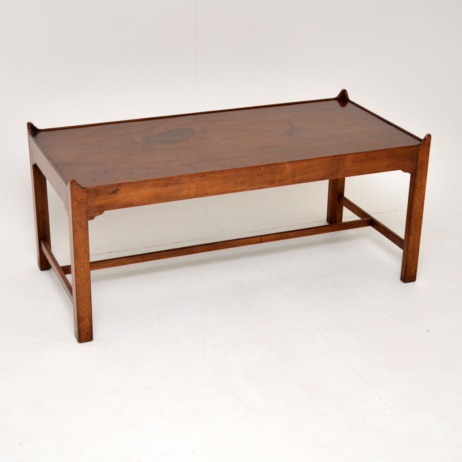 antique mahogany georgian edwardian coffee table