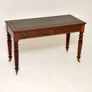 antique victorian mahogany desk writing table