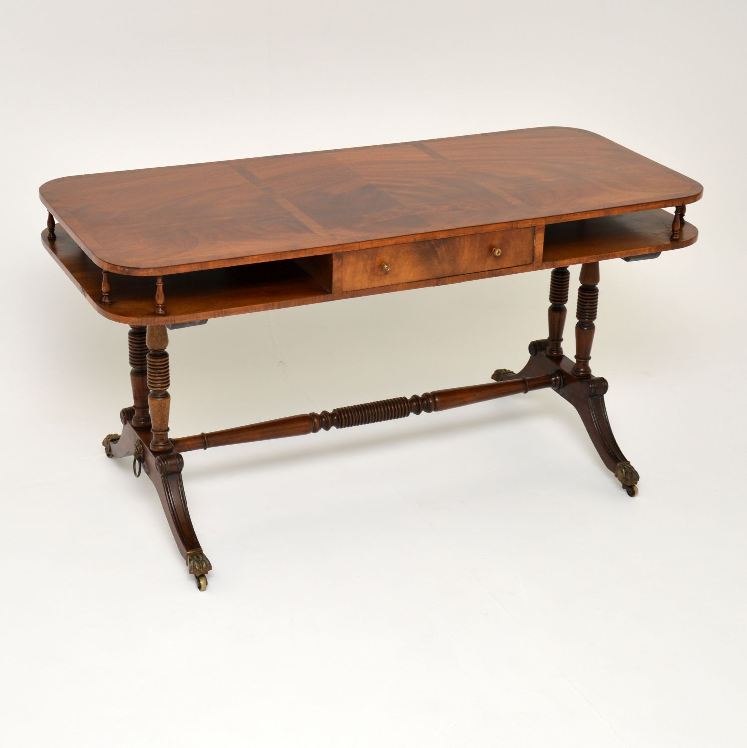 antique regency mahogany coffee table