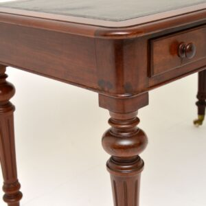 antique victorian mahogany desk writing table