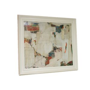 REMNANTS 14 Medium Abstract Collage by Artist Huw Griffith