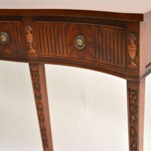 Antique Sheraton Style Mahogany Server / Side Table